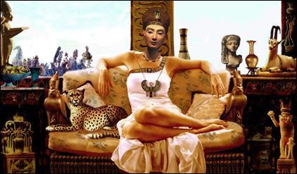 Représentation de Ziad Nour de cette reine de la période amarnienne : qui est-elle ?