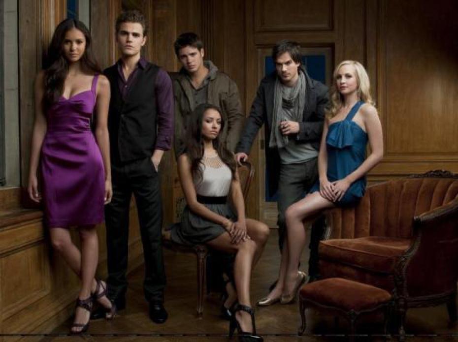 Les personnages de 'Vampire Diaries'