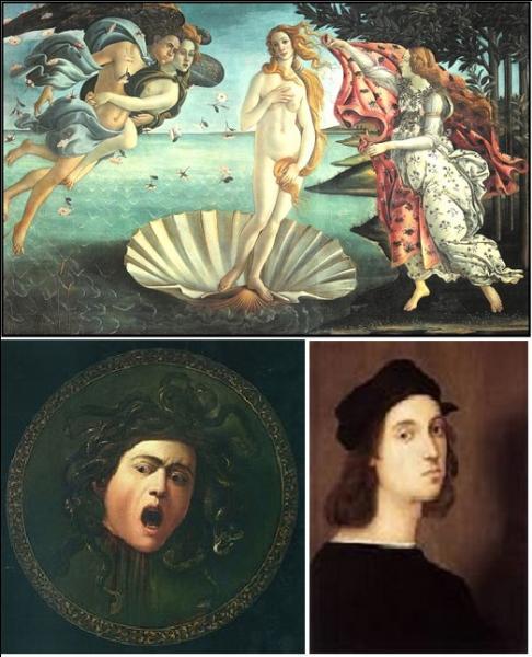 Ces toiles de maître font partie de la même collection, laquelle ?