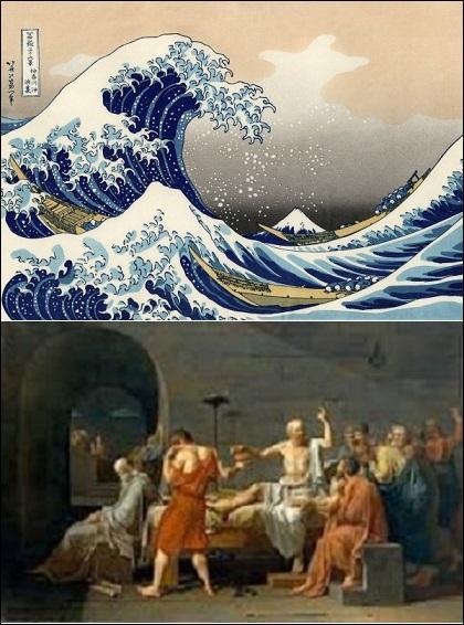 Ce lieu renferme 2 millions d'oeuvres dont 250 000 sont exposées ! Dans quel musée peut-on voir La Grande Vague de Kanagawa (Hokusai) et La Mort de Socrate (Jacques-Louis David) ?