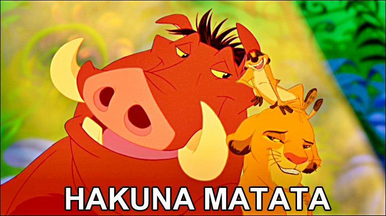"""Résultat de recherche d'images pour """"hakuna matata humour"""""""