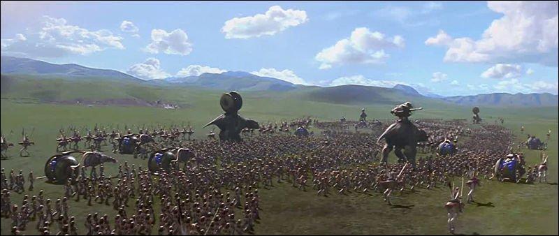 Lors de la bataille sur les plaines de Naboo, un droïde de combat est immatriculé ''1138''. Pourquoi ?
