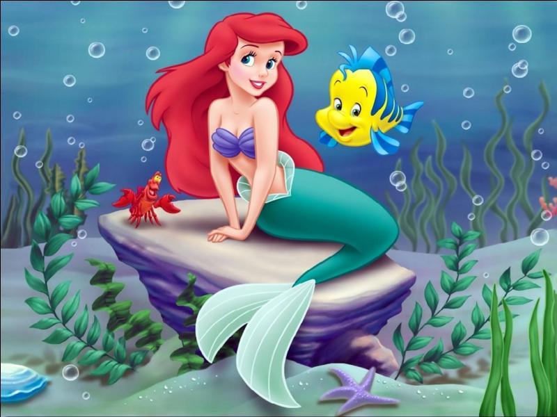 Comment s'appelle le petit poisson jaune de la petite sirène ?