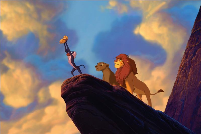 Quelle chanson du Roi Lion y a-t-il lors de cette scène ?