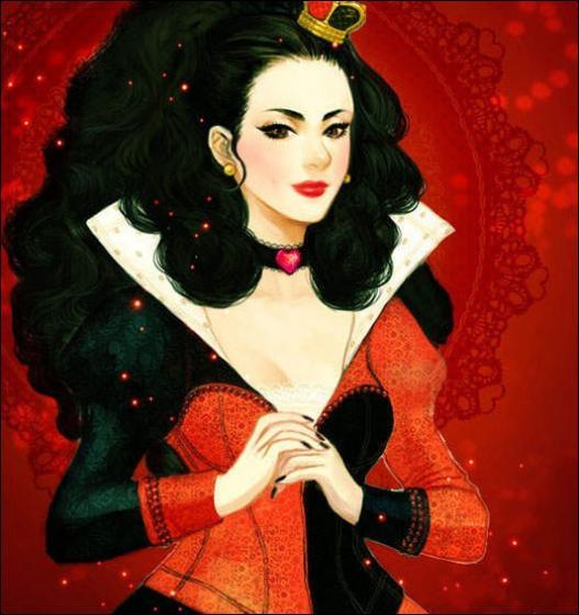 De toutes les jolies reines qui existent dans les films Disney, jamais je n'en ai vu de pareil. Je peux même vous affirmer que c'est l'une des plus hystériques. Tenez par exemple, elle aime que ses roses soient peintes en rouge. Attention à vous ou elle vous coupera la tête. En quelle année est-elle apparue à l'écran ?