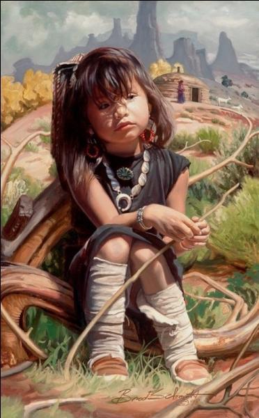 Quel est ce peuple amérindien qui vit dans les réserves du nord-est de l'Arizona et des régions contiguës du Nouveau-Mexique et de l'Utah ?
