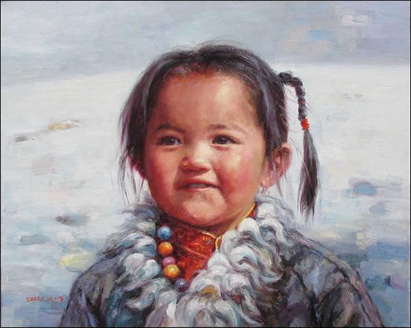 Ils vivent au Qinghai, Sichuan, et Gansu, c'est à dire...