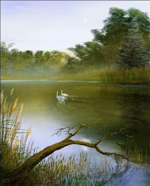 """Qui a écrit le célèbre poème """"Le lac"""" ?"""