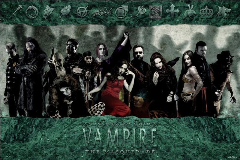 Des romans de quel écrivain est inspiré le jeu de rôle ''Vampire : La Mascarade' ?