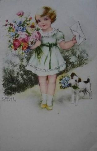 Quel petit chien voit-on sur l'illustration ?