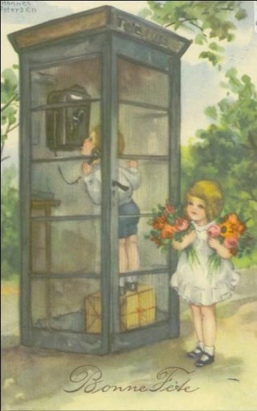 Qui a inventé la première cabine téléphonique à pièces ?