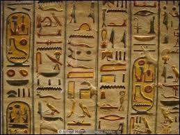 À quel millénaire av J.C sont apparus les hiéroglyphes ?
