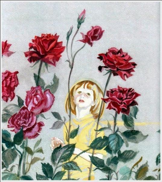 Le Petit Prince dira ces mots aux roses :