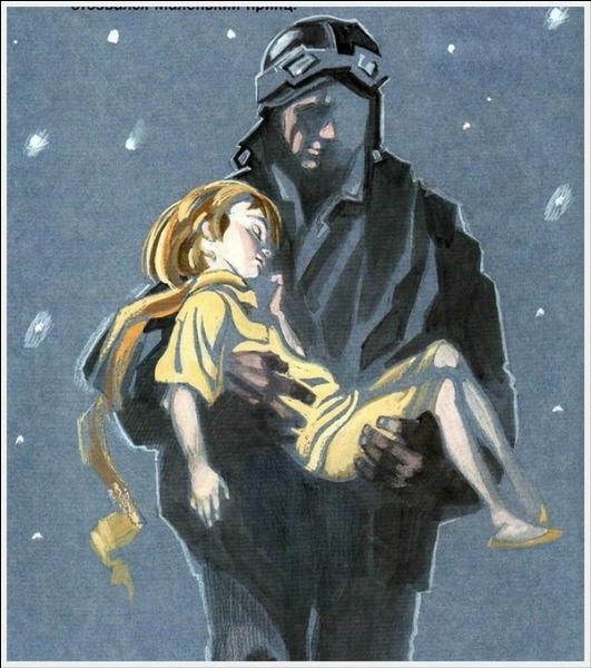 Après avoir écouté les beaux souvenirs du Petit Prince, le Petit Prince s'endormit, Saint-Exupéry le prit dans ses bras, et il marcha, où allait-il ?
