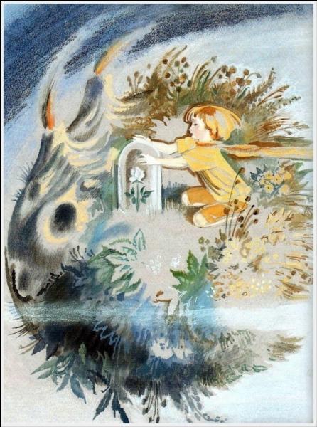 La rose du Petit Prince avait horreur des courants d'air, où demanda-t-elle au Petit Prince de la mettre chaque soir ?