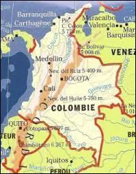 « En Colombie » est la bonne réponse à la question :