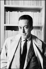 « Albert Camus », telle est la bonne réponse à la question :