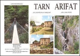 Village midi-pyrénéen du Massif Central, dans les Monts de Lacaune, Arifat se situe dans le département ...