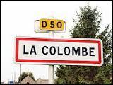 Commune de l'arrondissement de Blois, La Colombe se situe dans le département ...