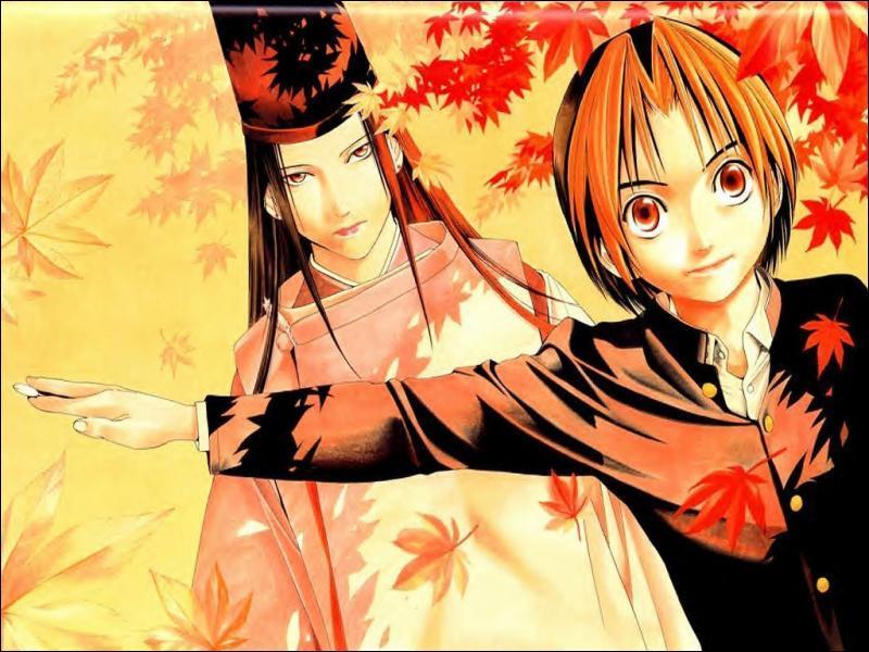 Ces deux personnages viennent du manga/ anime ...