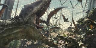 """Quel monstre est né au début du film """"Jurassic World"""" ?"""
