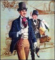 Ce Londonien au charme certain et à la prestance incomparable est accompagné d'un acrobate et d'une veuve lors de sa course autour du monde.