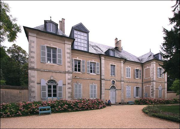 Célèbre femme de lettres, elle a grandi au chateau de Nohant :