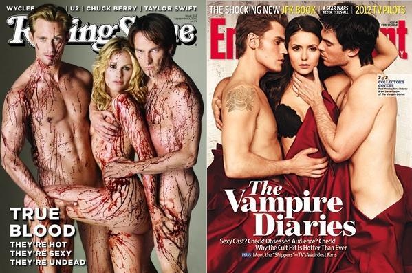 Retrouver les personnages qui appartiennent à la série : True Blood ou Vampire Diaries
