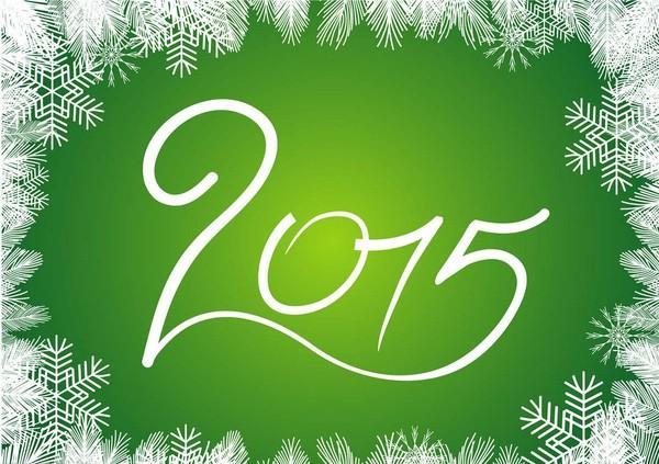 L'année 2015 : quelques bonnes nouvelles ! 1