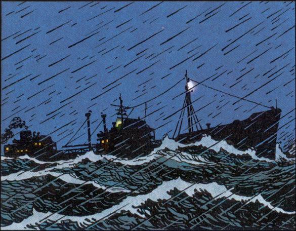 """Tintin s'embarque comme radio-télégraphiste sur le """"Speedol Star"""" ; dans quel album ?"""