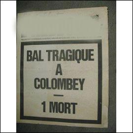 Quel journal satyrique créait ce titre à la Une en 1970 ?
