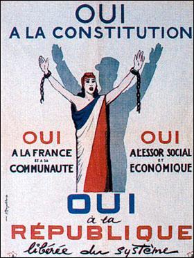 En France, en quelle année fut créée la Ve République ?