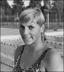 Dans quel sport Kiki Caron s'est-elle illustrée dans les années 1960 ?