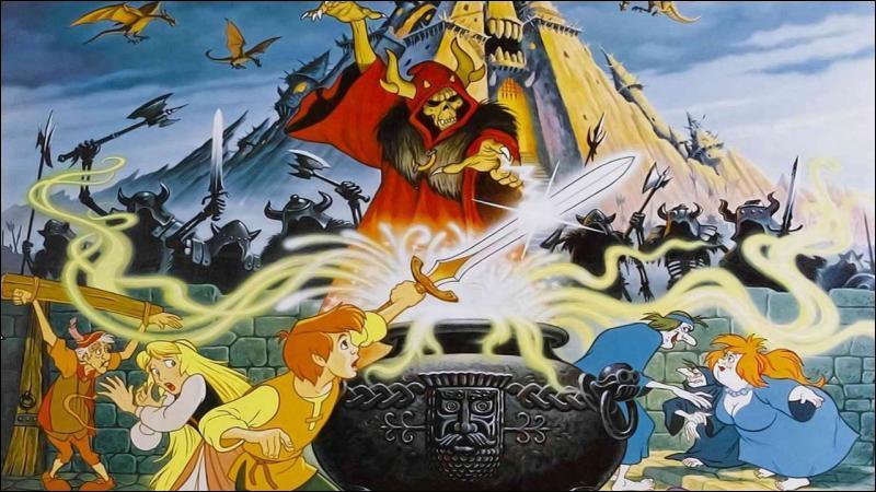 Un apprenti magicien se retrouve à devoir protéger un cochon magique qui est le seul à pouvoir trouver un objet enchanté très dangereux.