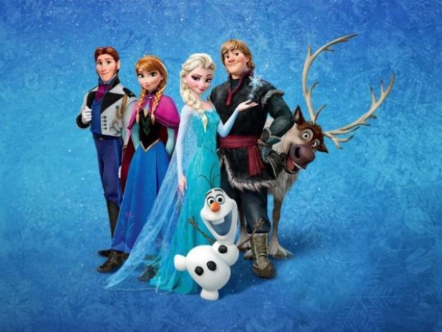 Les personnages dans « La Reine des neiges »