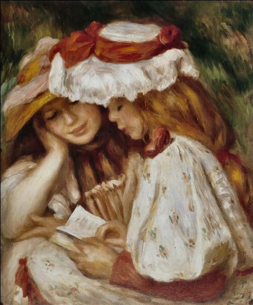 """Qui a peint """"Jeunes filles lisant"""" ?"""