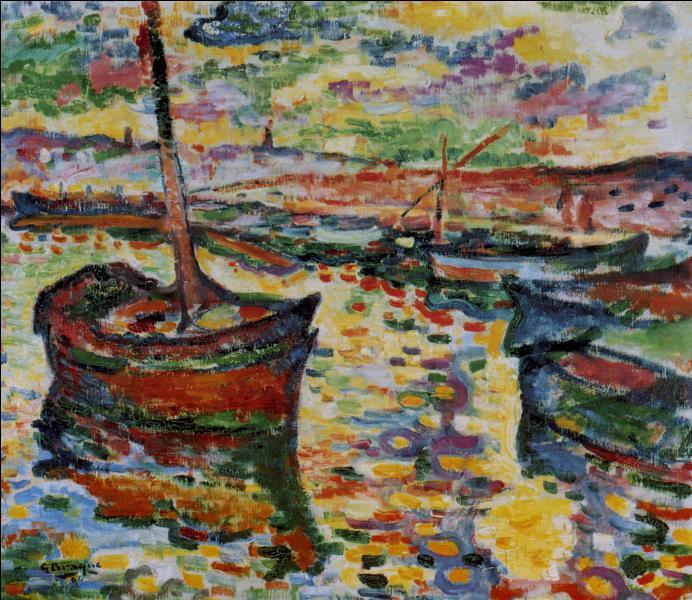 """Qui a peint """"Les barques à Collioure"""" ?"""