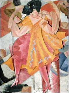 """Qui a peint """"La danseuse articulée"""" ?"""