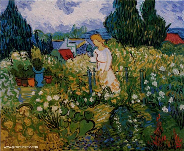 """Qui a peint """"Marguerite au jardin"""" ?"""