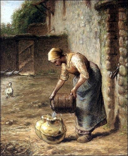 """Qui a peint """"La femme au puits"""" ?"""