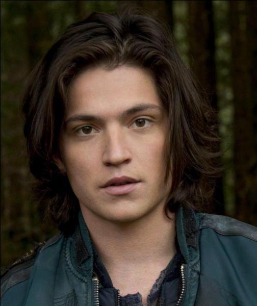 C'était Finn Collins, il a été poignardé par Clarke Griffin pour lui éviter des actes de tortures abominables par le clan des Grounders. Comment s'appelle cette série ?