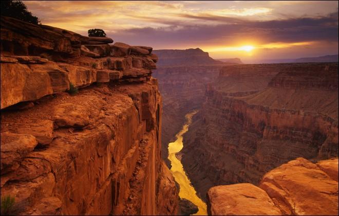 Géographie - Dans quel État des États-Unis se situe le Grand Canyon ?