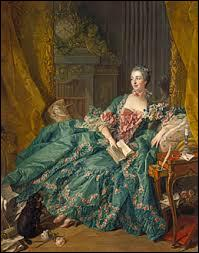 Histoire - De quel roi de France la marquise de Pompadour était-elle la favorite ?