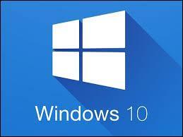 """Informatique - En quelle année le système d'exploitation """"Windows 10"""" fut-il mis en service ?"""