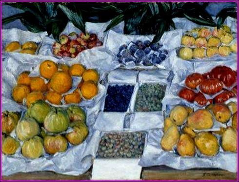 """Qui a peint """"Fruits à l'étal"""" ?"""