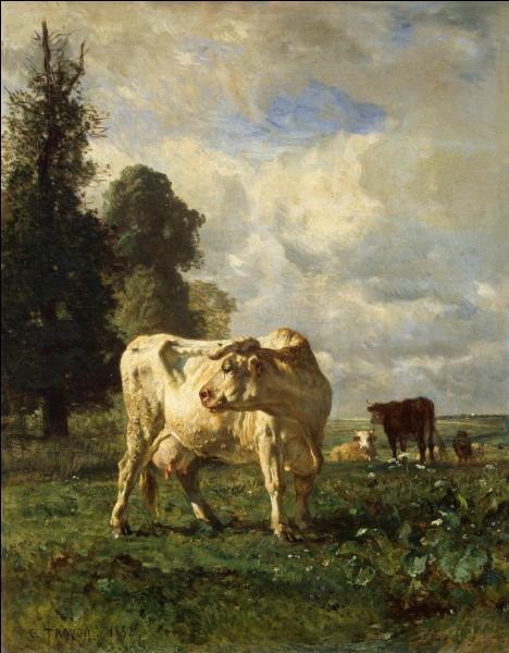"""Qui a peint """"Vaches au champ"""" ?"""