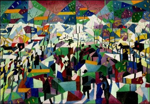 """Qui a peint """"Le boulevard"""" ?"""