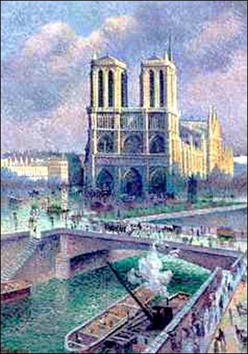 """Qui a peint """"Notre Dame de Paris"""" ?"""