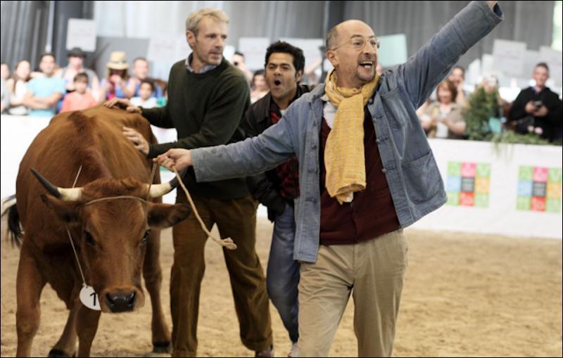 """Quel acteur rencontrera-t-on dans le film """"La vache"""" qui sortira en février 2016 ?"""