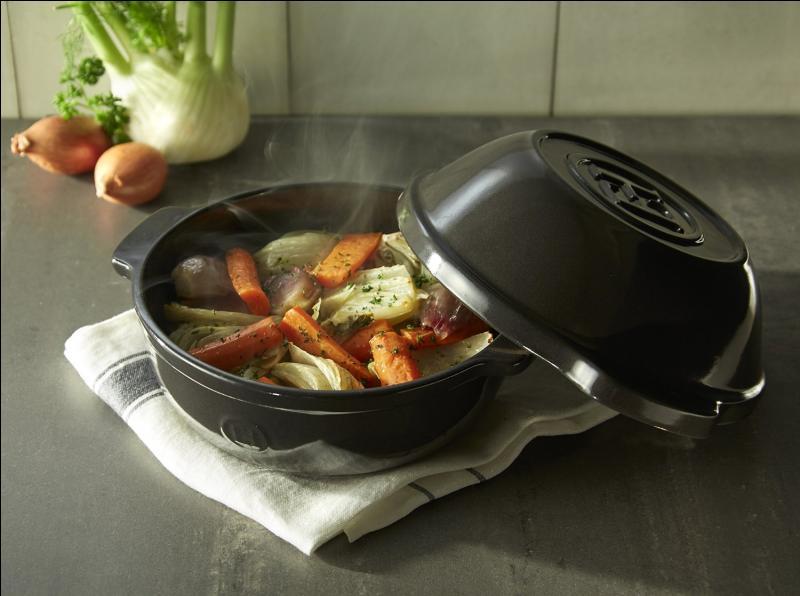 Comment se nomme cet ustensile de cuisson formé de deux poêlons ?